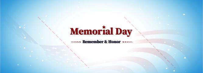 america memorial day, remember and honor