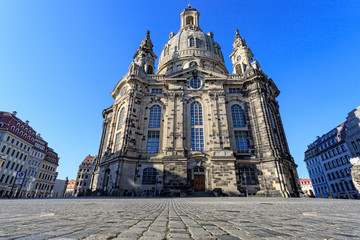 Download Dresden, Germany - Frauenkirche Stock Image - Image of historical, reconstruction: 97653109 Dresden, Germany. Frauenkirche, city of Dresda, historical and cultural center of Free State of Sa