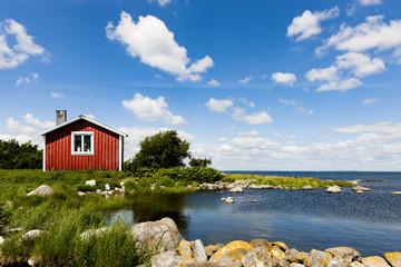 Rotes Haus ion Schweden