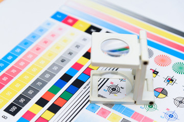 Printing Thread Counter checking registration Measurement Color Management Industry Object