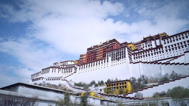 Potala palace, Lhasa, Tibet, China
