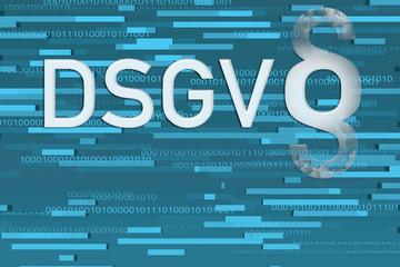 Hintergrund DSGVO abstrakt