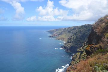 Costa en la isla de Tenerife