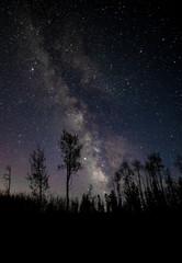 Galaxy as Seen in the Colorado Rocky Mountains