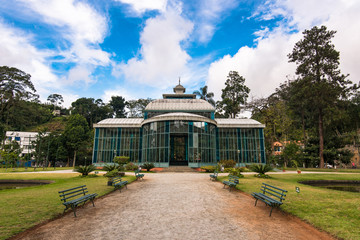 The Crystal Palace in Petropolis City in Brazil