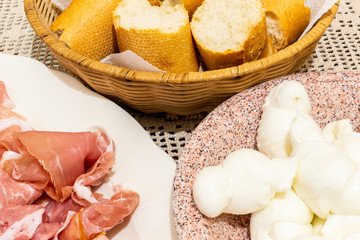 Typical italian appetizer