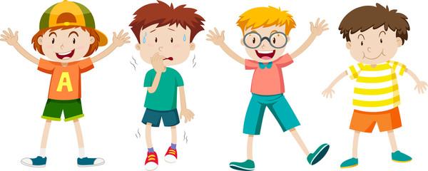 A Set of Children Expression