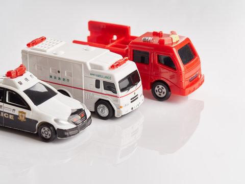 緊急車両のイメージ