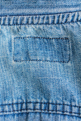 texture of denim cloth close-up