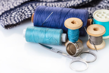 Sewing accessories and cloth