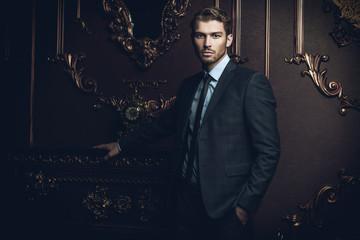 classic male suit