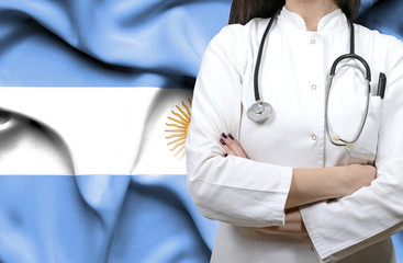 Conceptual image of national healthcare system in Argentina