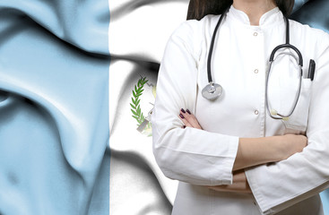 Conceptual image of national healthcare system in Guatemala