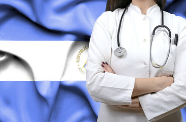 Conceptual image of national healthcare system in Nicaragua