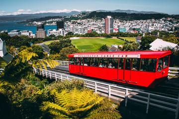 Canvas Prints New Zealand Wellingtons Cable Car