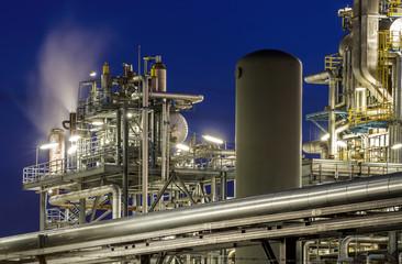 Dampfreformer für Wasserstoff in einer Raffinerie