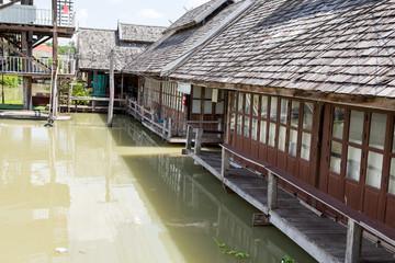 Ferry Port in Thailand