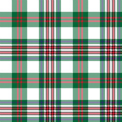 Pixel seamless pattern check tartan fabric texture