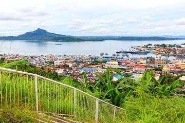 View on Tacloban City, Philippines From Calvary Hill