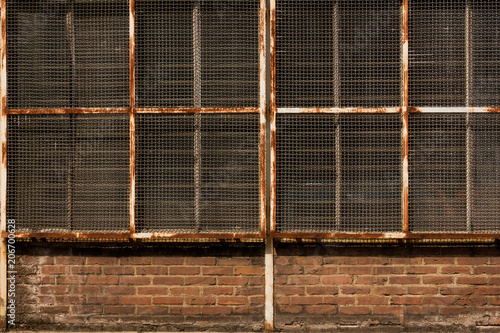 Industrie Gitter Fenster Stock Photo And Royalty Free Images On