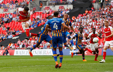League One Play-Off Final - Rotherham United v Shrewsbury Town