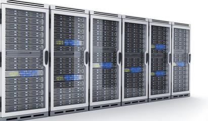 Many modern servers. Large database