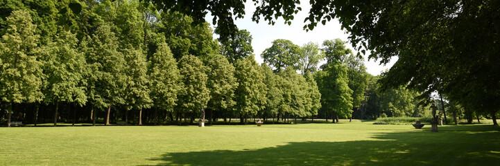Parkanlage von Schloss Molsdorf