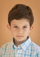 Retrato de niño de 4 años