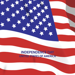 United States of America. 4th of July. Independence Day. Vector 10