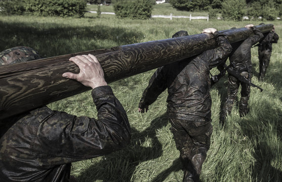 Special Forces military training for soldiers