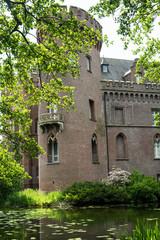 Moyland Castle and gardens near Emmerich, Germany