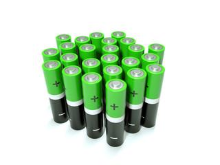 green battery AAA