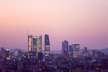 Mexico city Skyline Papier Peint
