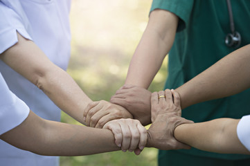 Tagteam Concept: Collaboration between nurses and doctors.