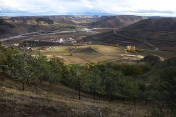 Medinaceli, pueblo y villa historica de Soria, comunidad autónoma de Castilla y León, en España
