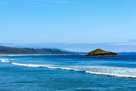 Long Beach, Pacific Rim National Park, Tofino, British Columbia, Canada on Vancouver Island