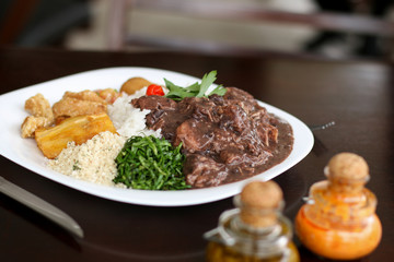 Feijoada, the Brazilian typical food