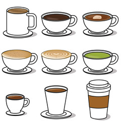 hand drawn coffee type