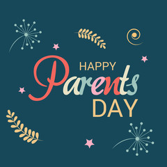 Happy Parents Day.
