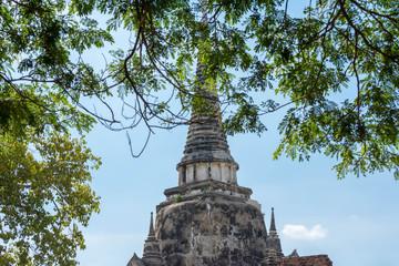 タイ・アユタヤ・遺跡・ワット・プラ・シーサンペット(Wat Pra Srisanpet)