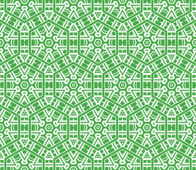modern pattern of geometric ornament. Seamless vector illustration. for interior design, printing, wallpaper.