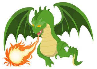 RPGシリーズ 炎を吐くドラゴン