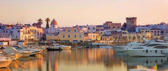 Panoramic view of Forio, Ischia island, Italy