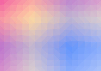 Abstract low poly geometric background. Polygonal crystal effect vector. Futuristic textures.
