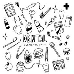 Dental Illustration Pack