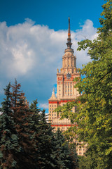Moscow State University building