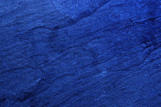 Dark blue black slate background or texture. Stone background