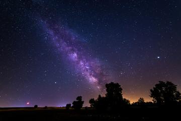 Milky way near Madrid, Spain