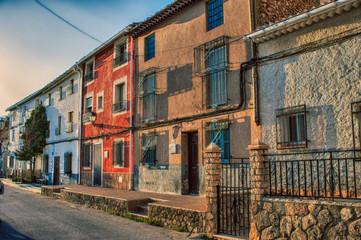Albacete village houses