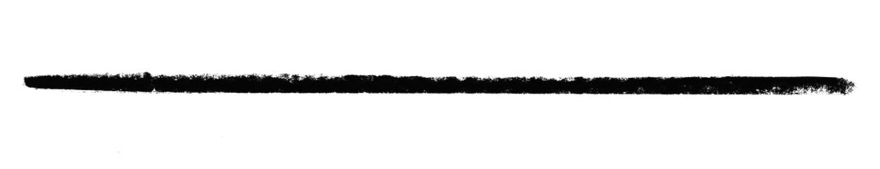 Breiter Kreidestreifen schwarz